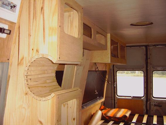Super Idée aménagement camion RK13